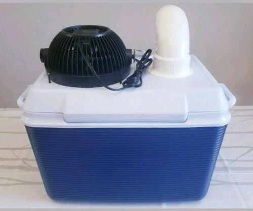 """NEW Igloo 48qt Personal Ice Portable Air Conditioner 9"""" Fan"""