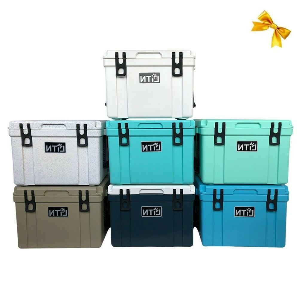 Outdoors 26 QT Ice Chest Box RotoMolded Cooler and Ice Box