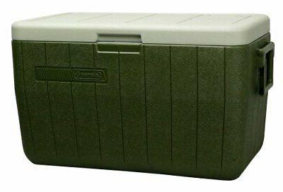 performance portable cooler 48 quart green 3000000021