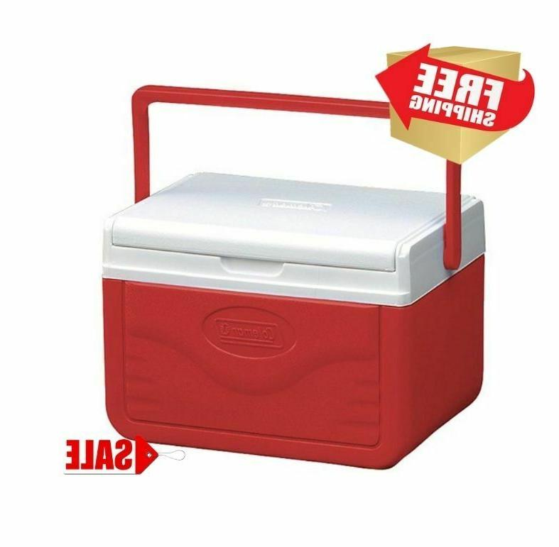 personal cooler coleman food ice chest lunch