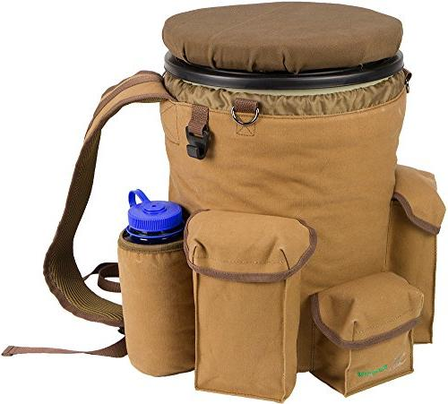 Peregrine Venture Hunting Backpack Combo, Brown Canvas