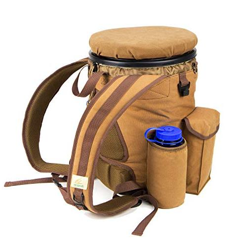 pfg vbp3b brn venture hunting bucket backpack