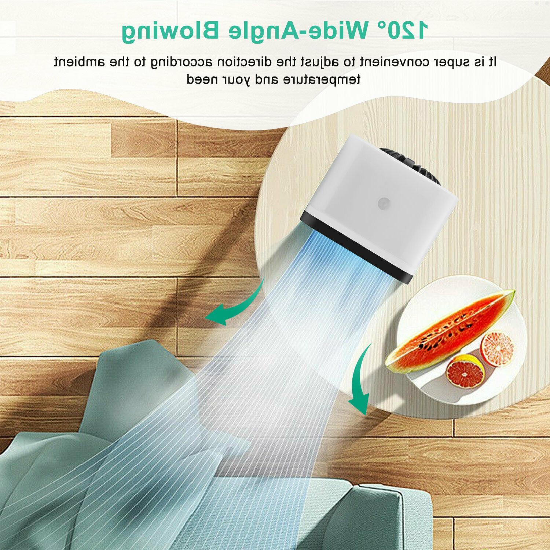 Portable Mini Air Conditioner Cooler Fan Neck Waist Clip Fan
