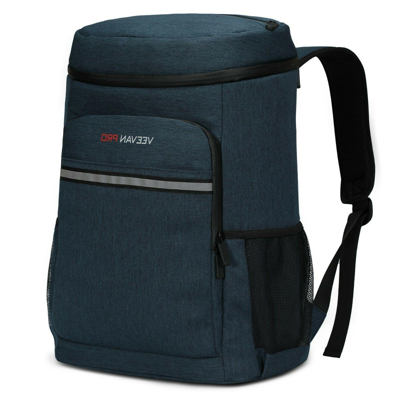 Leak-Proof 40 Cans Cooler Insulated Backpack Soft Cooler Bag