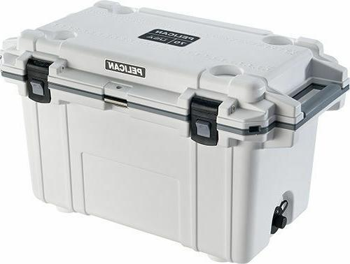 Pelican Extreme Elite Outdoor Cooler Ice Chest Series 70qt 7