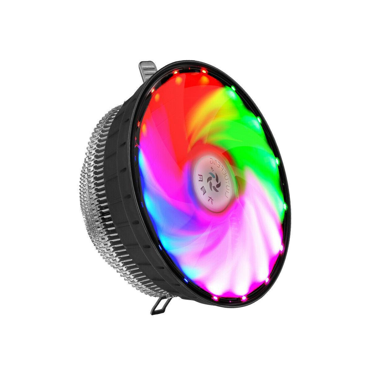 RGB CPU Fan For Intel 1156/1155/1151/1150 AM2+