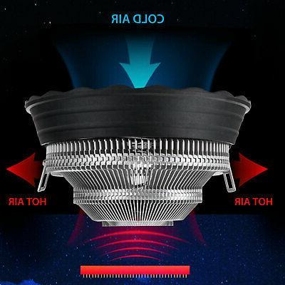 RGB Fan Heatsink LGA1155 /775/AMD4/AM3+