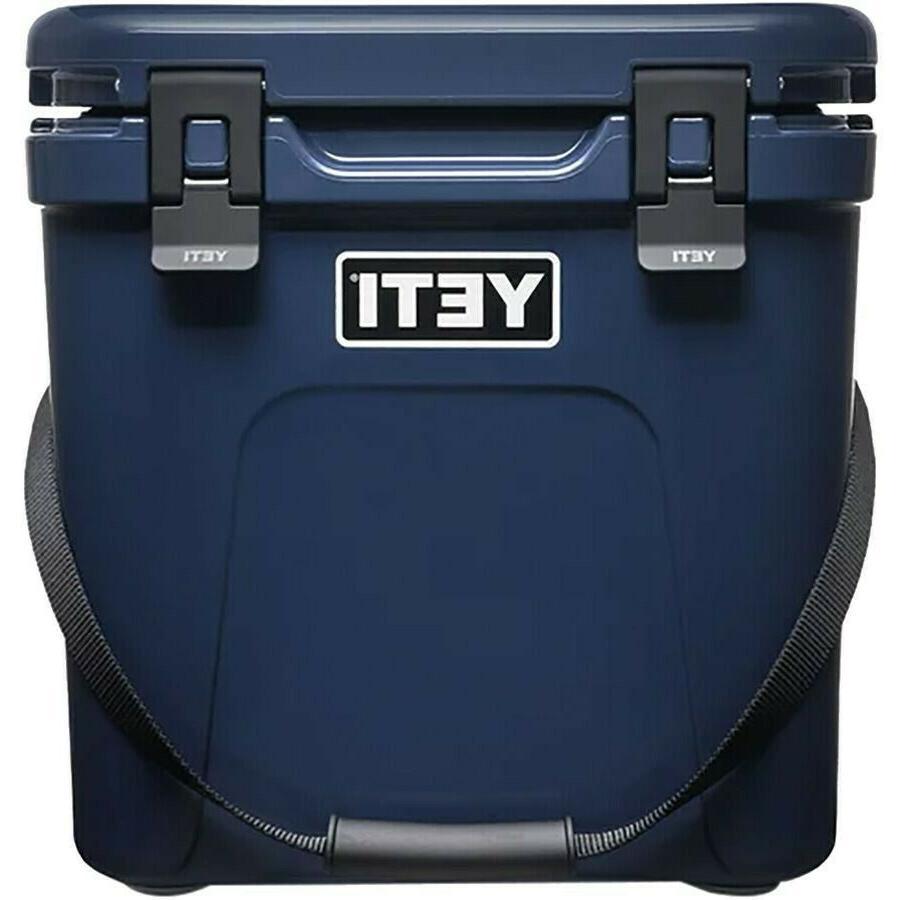 Yeti Roadie Cooler Box - Charcoal - Navy Ice Pink New