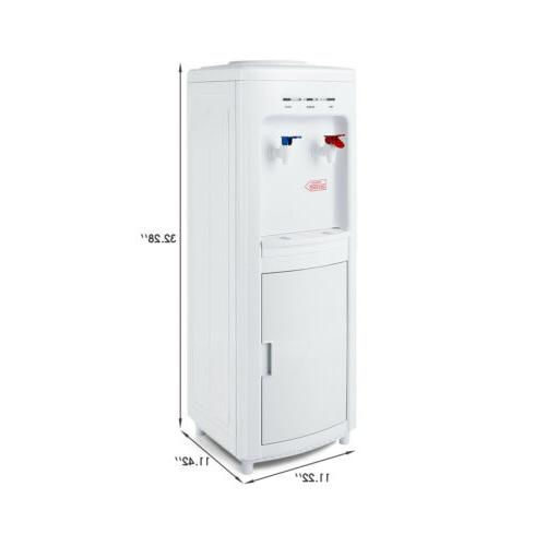 Top Loading Water Cooler with Cabinet