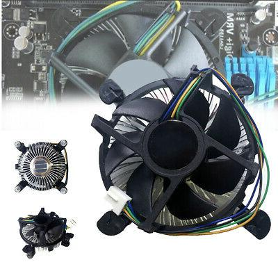 Computer Components Heatsink Useful CPU Fan Cooler Universal