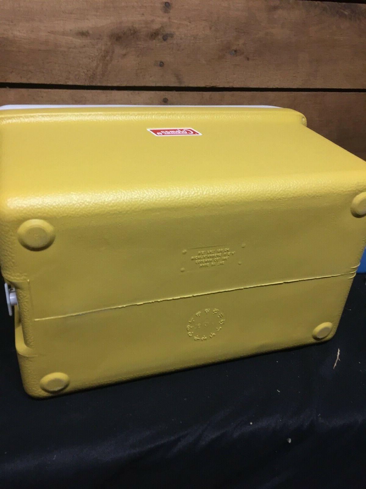 Vintage Cooler Gold NOS