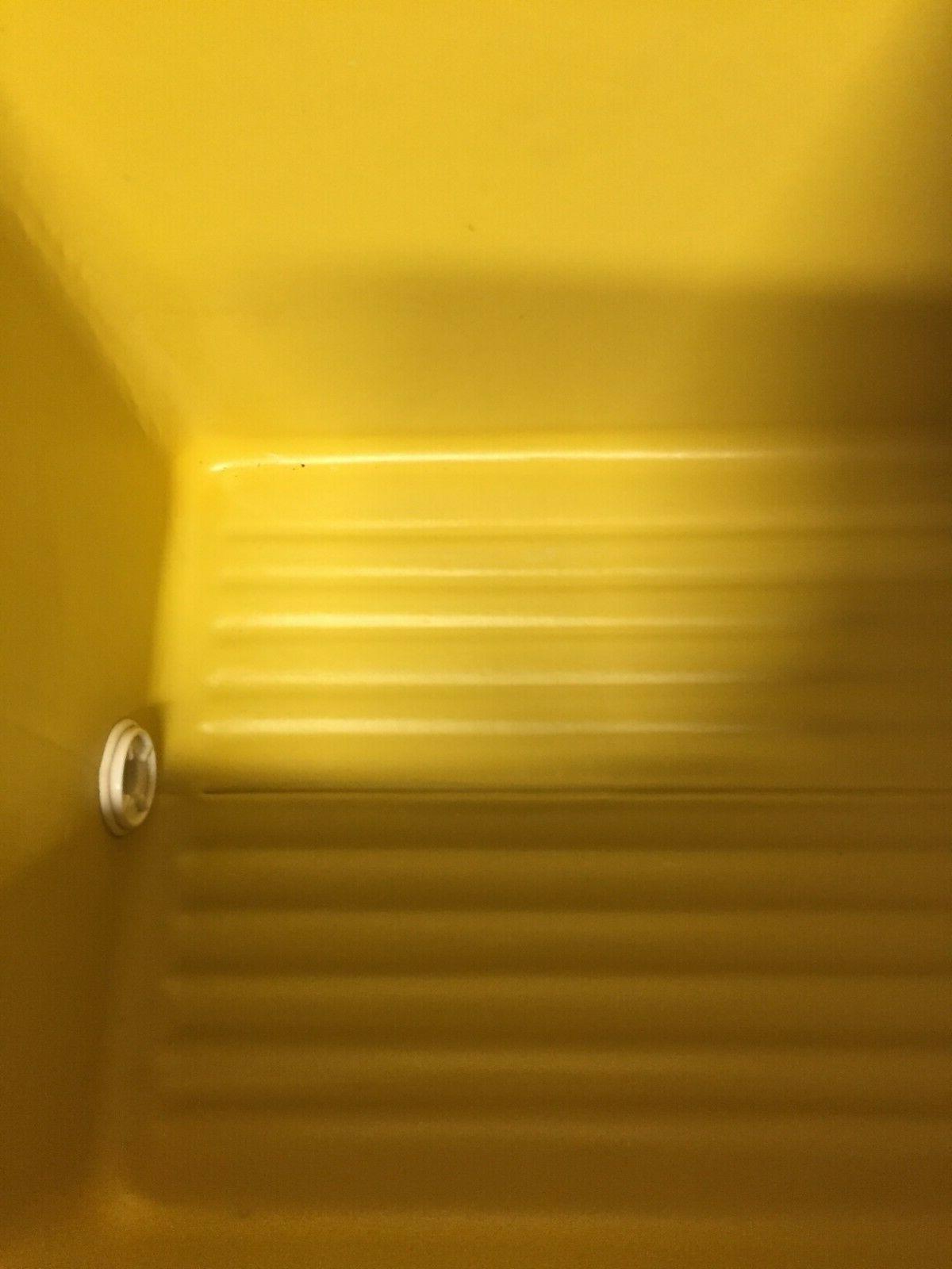 Vintage Cooler Gold Yellow Retro NOS
