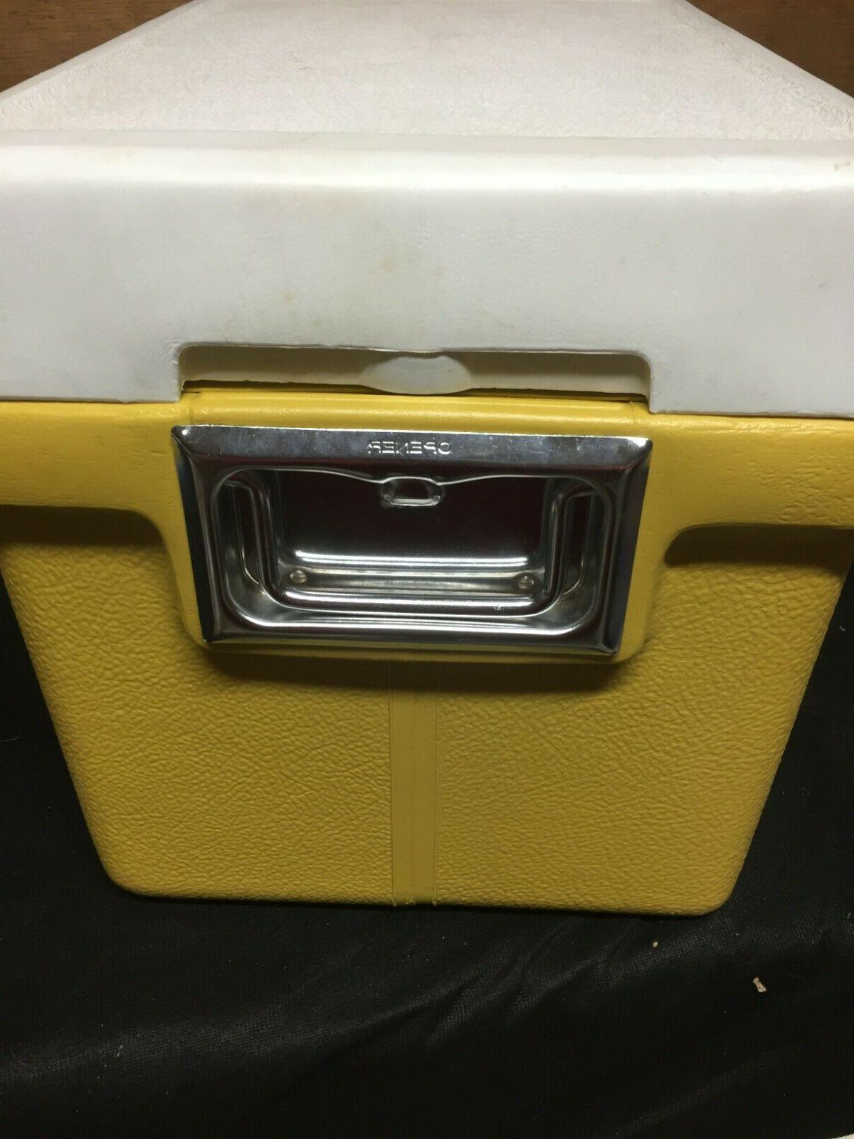 Vintage Yellow Mustard Retro NOS