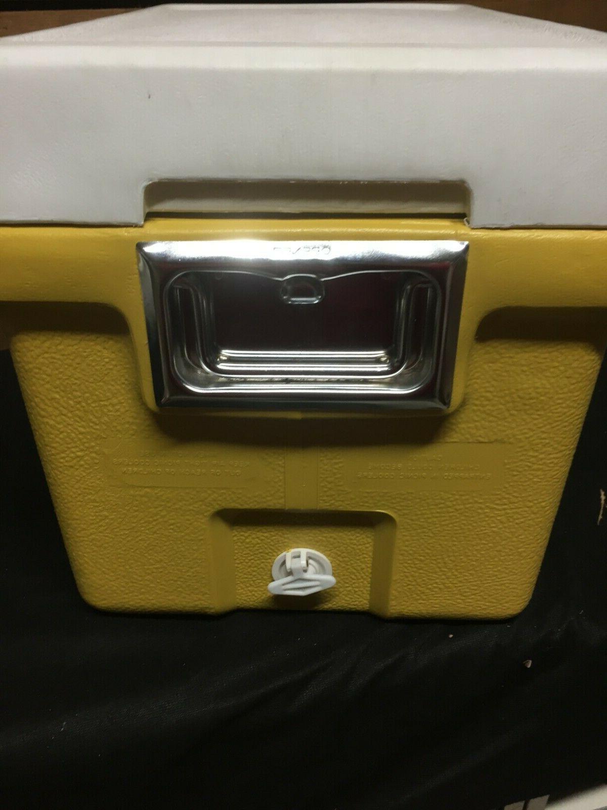 Vintage Coleman Yellow Retro NOS New