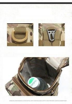 Tactical Gear Bottle MOLLE Storage Bag For