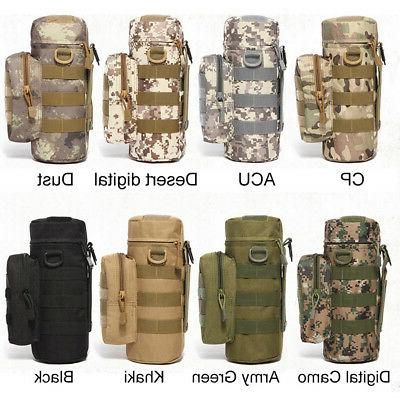 water bottle molle cooler storage bag pouch