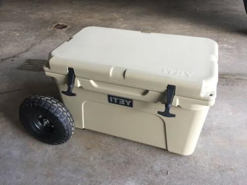 """Yeti Cooler 45 Wheel Tire Axle Kit """"THE HANDLE"""" Accessory In"""