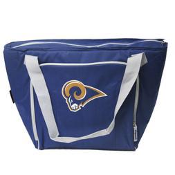 Logo La Rams 30 Can Tote Lunch Bag Beverage Cooler Bag Front