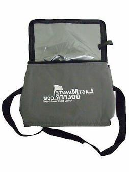 Last Minute Golfer Koozie Cooler Bag  Golf NEW