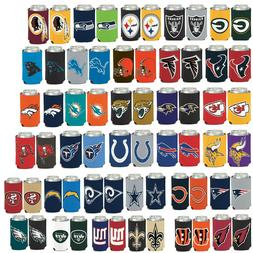 Licensed Football 2 Sided 12 oz Can Cooler Collapsible Koozi