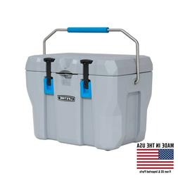 28 Quart High Performance Cooler 5-day Ice Box Retention Lun