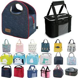 Insulated Lunch Bag Cooler Food Container Work Picnic School