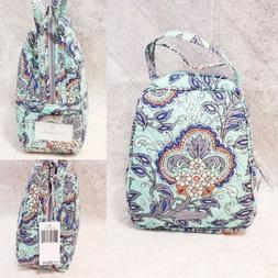 Vera Bradley Lunch Bunch Insulated Quilted Bag Fan Flowers C