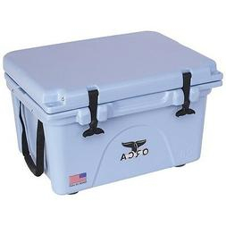 ORCA Made In USA Heavy Duty Cooler 26 Qt, LIGHT BLUE