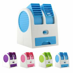 Mini Desktop Air Conditioner USB Rechargeable Small Fan Cool