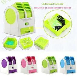 Desktop ICE Air Conditioner Fan Desk Cooling Portable Cooler