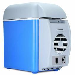 Mini Portable Fridge Cooler 7.5l Capacity Warmer Electric Fr