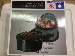 Mobile Grill Cooler Combo NIB Beach or Football Tailgate Par