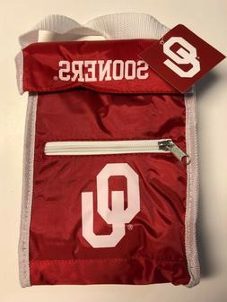 NCAA Oklahoma Sooners Insulated Lunch Box / Sack Cooler with
