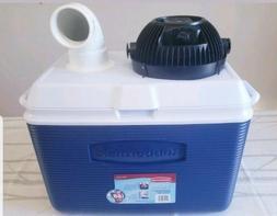 new 48qt diy personal ice swamp cooler