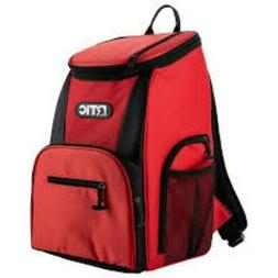 NEW for 2019 NWT RTIC Day Cooler 15 Can Backpack, Red & Blac