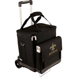 Picnic Time New Orleans Saints Cellar w/Trolley - New Outdoo