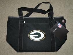 NFL Green Bay Packers Topanga Insulated Cooler Tote, Black