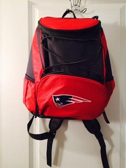 NFL NEW ENGLAND PATRIOTS  PTX INSULATED COOLER BACKPACK RED/