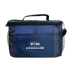 NFL Seattle Seahawks Insulated Lunch Cooler Bag with Zipper