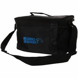 NFL Team Logo 6 Pack Cooler Lunch Bags- Carolina Panthers