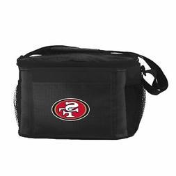 NFL Team Logo 6 Pack Cooler Lunch Bags- San Francisco 49ers