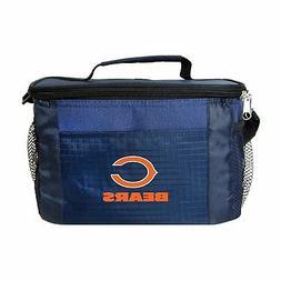 NFL Team Logo 6 Pack Cooler Lunch Bags- Chicago Bears