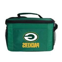 Kolder NFL Team Logo 6 Pack Cooler Lunch Bags Bay Packers Gr
