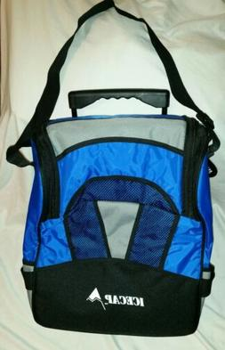 NWT Icecap Insulated Bag/Box Cooler Bag with Handle and Whee