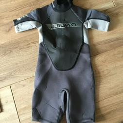 O'Neill Toddler Reactor II 2MM Back-Zip S/S Spring Wetsuit S