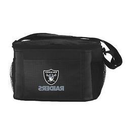 Oakland Raiders Kolder Kooler Bag - 6pk  NFL Cooler Lunch Ta