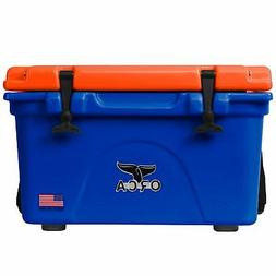Orca ORCBL/ORO26 Roto Molded 26 Quart 24 Can Insulated Ice C