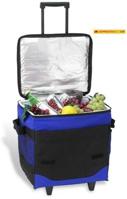 Picnic At Ascot Original 60 Can Collapsible Insulated Rollin