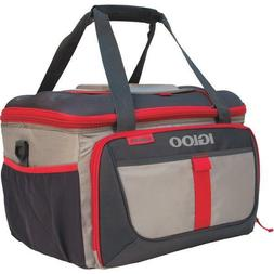 Igloo Outdoorsman Collapsible 50-Sandstone/Blaze Red