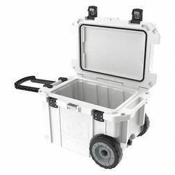 PELICAN PRODUCTS INC. 45QW WH Wheeled Cooler,White,45 qt.